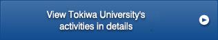View Tokiwa University's activities in details